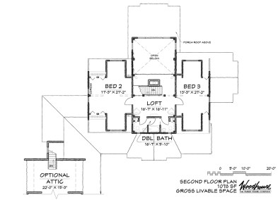 EaglePeak 2nd Floor Plan