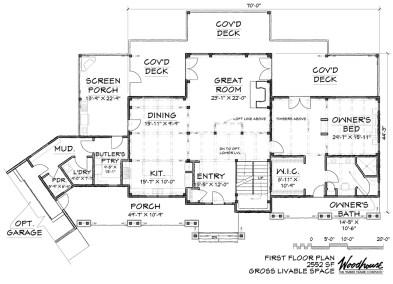 GreatCamp 1st Floor Plan
