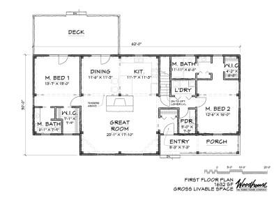 HighLand 1st Floor Plan