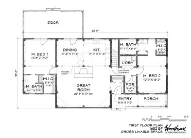 HighLand 1st Floor Plan