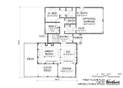 Keystone 1st Floor Plan