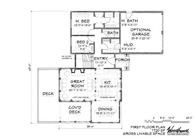 Keystone 1st Floor Plan