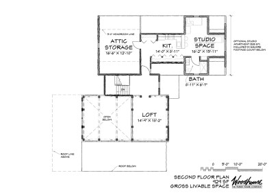 Keystone 2nd Floor Plan