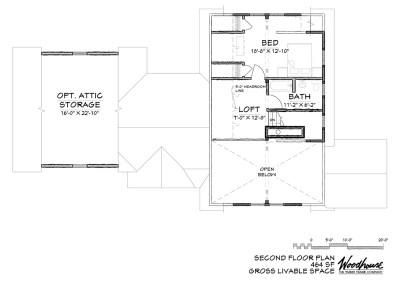 MillRun 2nd Floor Plan