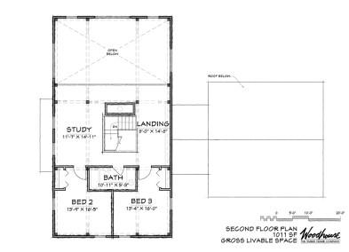OakMeadow 2nd Floor Plan