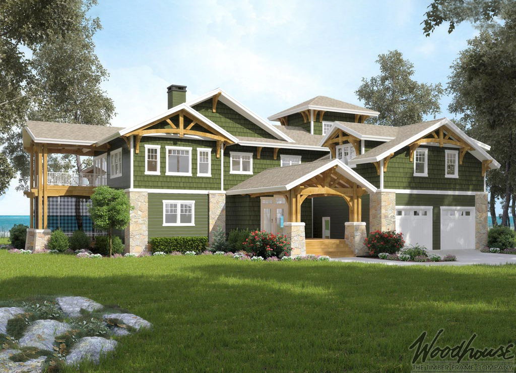 Timber Frame Home Plans - Woodhouse The Timber Frame Company
