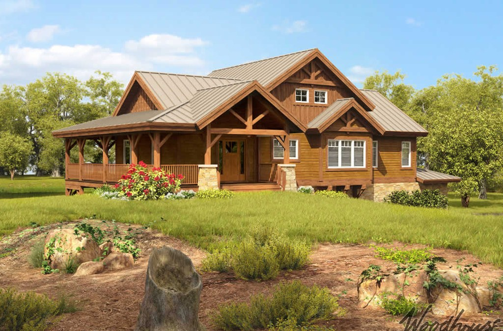 Small Timber Frame Cabin Plans With Lofts Woodhouse The