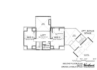 Sagamore 2nd Floor Plan