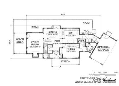 Saranac 1st Floor Plan
