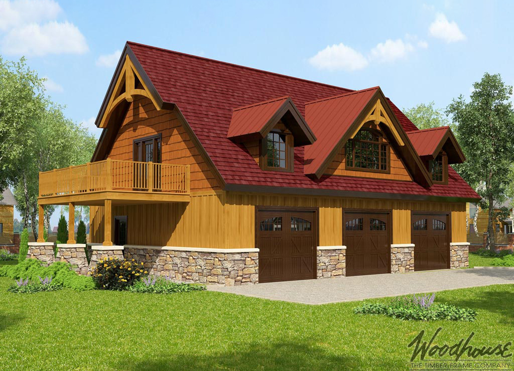 Timber frame home plans woodhouse the timber frame company for Timber frame farmhouse plans