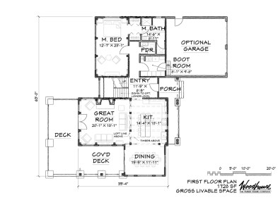 TimberRidge 1st Floor Plan