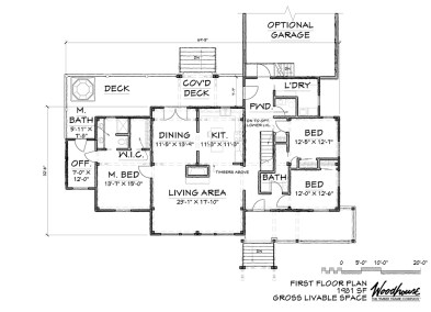 WedgeWood 1st Floor Plan