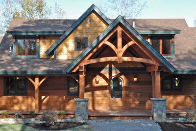 Sagamore Douglas Fir Pre-Designed Timber Frame Home