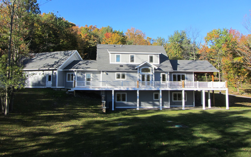 Saranac Eastern White Pine Pre-Designed Timber Frame Home – Trumansburg, NY