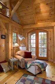 Travis-Custom Eastern White Pine Timber Frame Home in Interlaken NY-NY-1