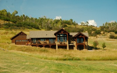 Custom Red Oak Timber Frame – Oak Creek CO