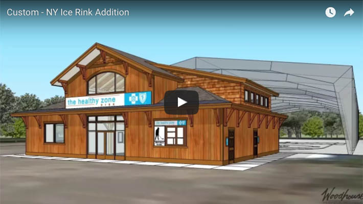 Commercial addition to New York Ice Rink