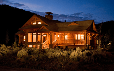 Wedgewood Southern Yellow Pine Timber Frame Home – Breckenridge CO