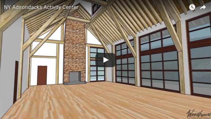 NY Adirondack Activity Center Frame Concept