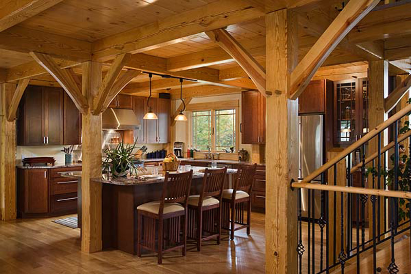 Woodhouse Post and Beam Kitchens