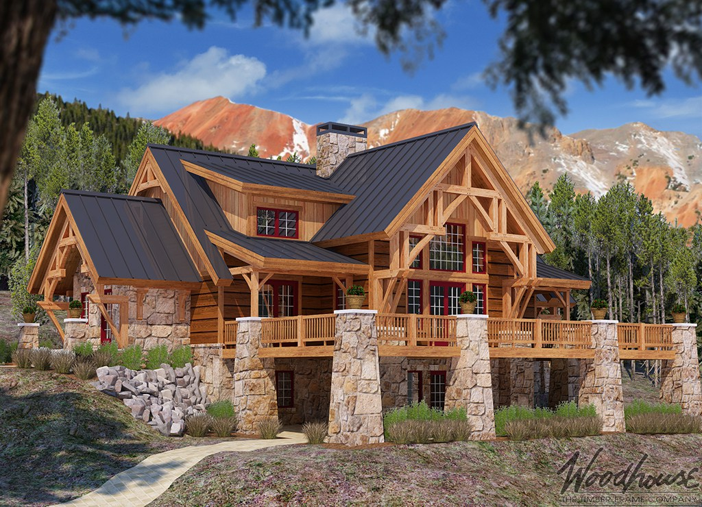Featured Home Of The Month Mistymountain Woodhouse The