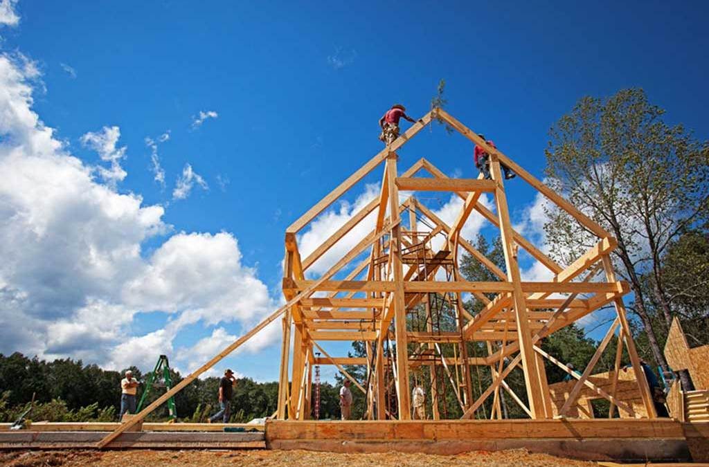 How Green is a Timber Frame Home?