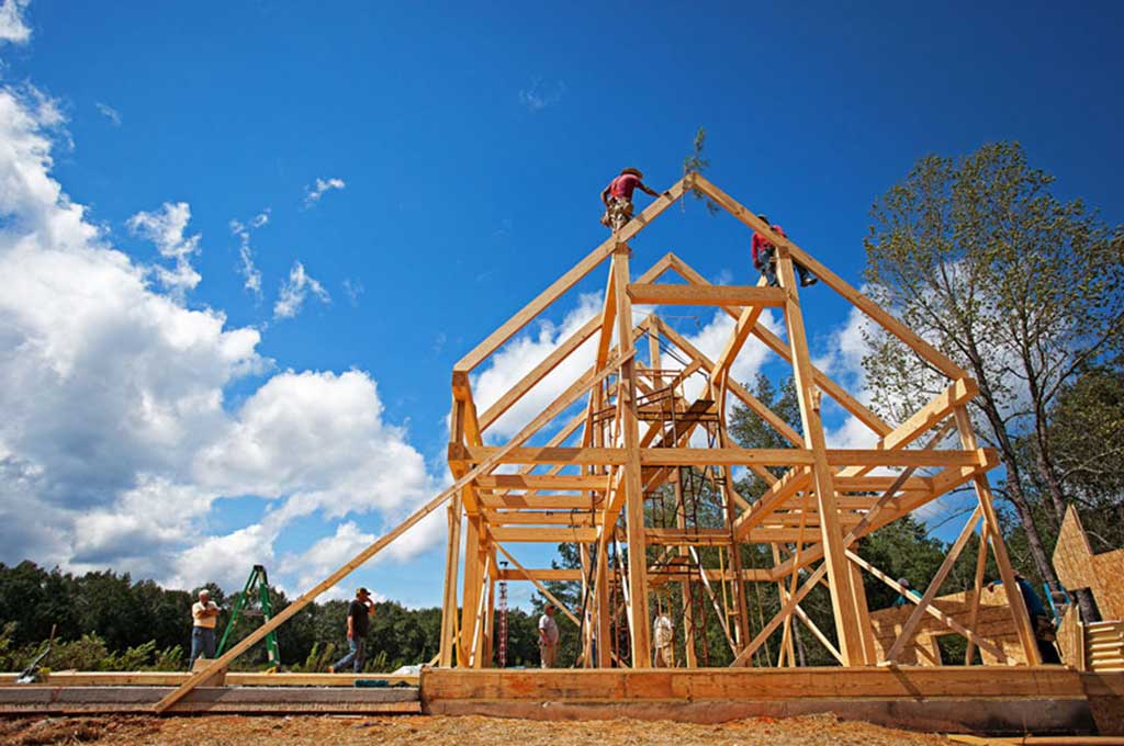Built to Last - green timber frame home construction