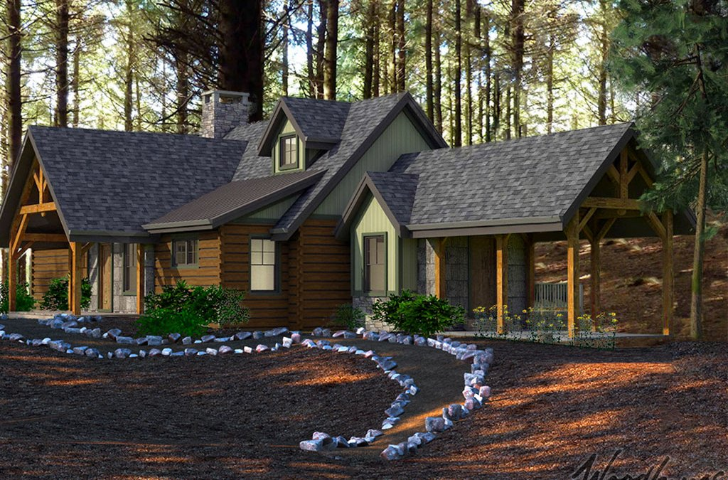 The Appalachian Mountain Home Series by Woodhouse