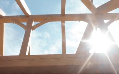 Oak Harbor Timber Frame Raising