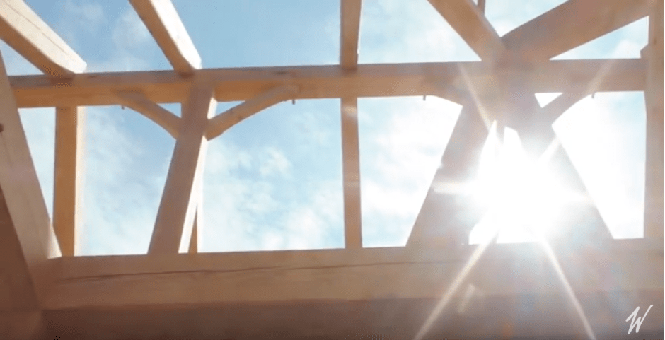 Oak Harbor Timber Frame Raising