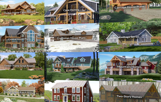 Timber Frame Home Styles