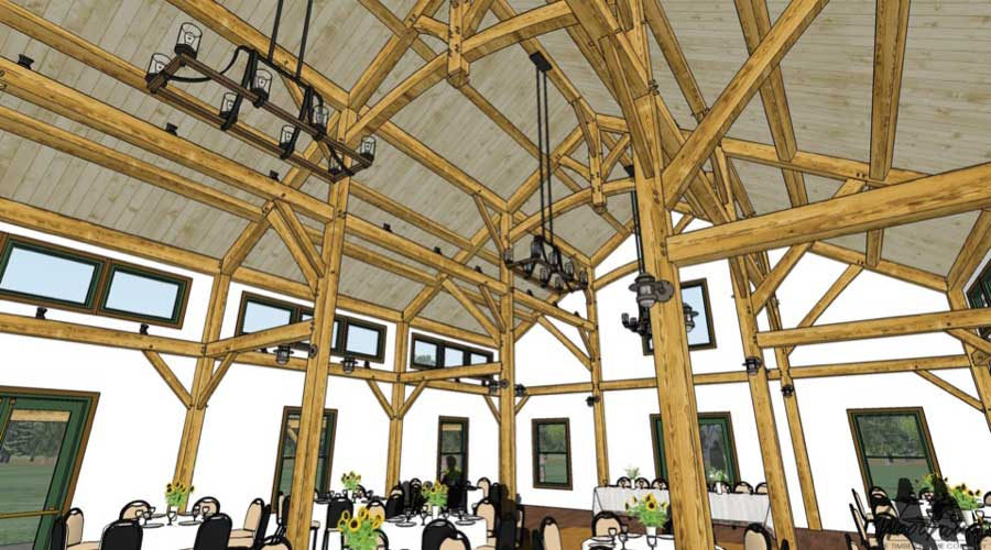 Distillery Woodhouse The Timber Frame Company