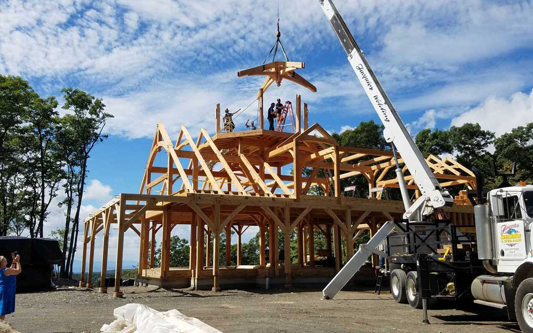 Timber Frame Homes: The World's Strongest Builds