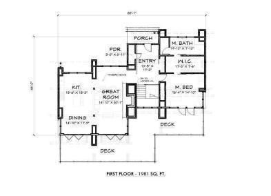 Tumalo V2 1st Floor