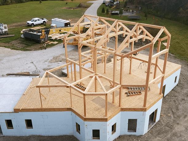 Build a timber frame home