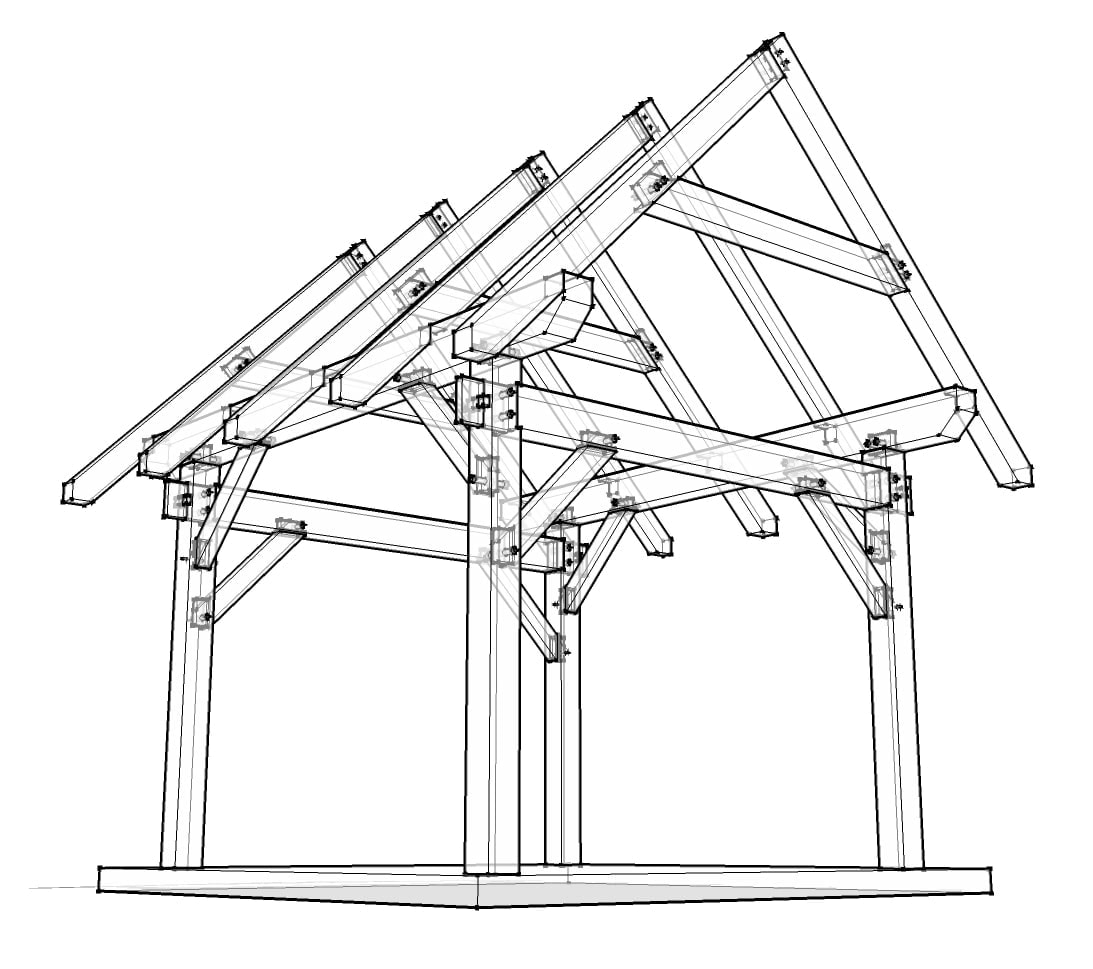 Diagram Parts Of Houses Pilings