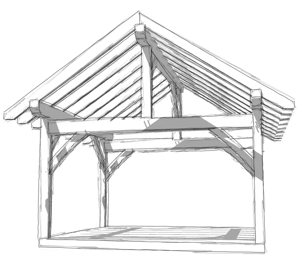 Plans For Shed Roof Trusses