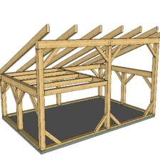 20x20 Timber Frame Plan Timber Frame Hq