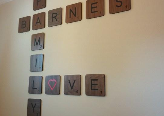 Large Scrabble Letters
