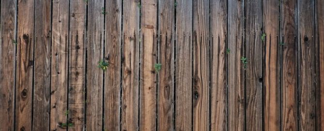 fence wooden