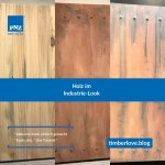 Tutorial: Industrie-Look auf Holz