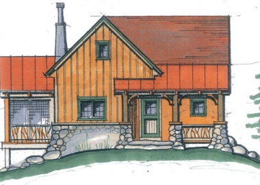 Floor plans   Timberpeg Timber Frame   Post and Beam Homes Foxtail Cabin