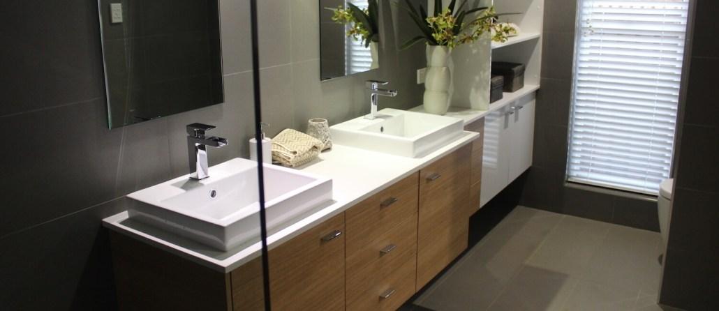 Timbertown Kitchens Vanity with Storage Unit