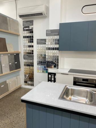 Hotondo Homes Kitchen Colour Selections and Display fitted by Timbertown Kitchens Wauchope