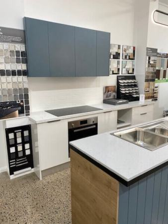 Hotondo Homes Kitchen Display fitted by Timbertown Kitchens Wauchope