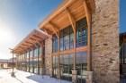 Timber framing in Utah
