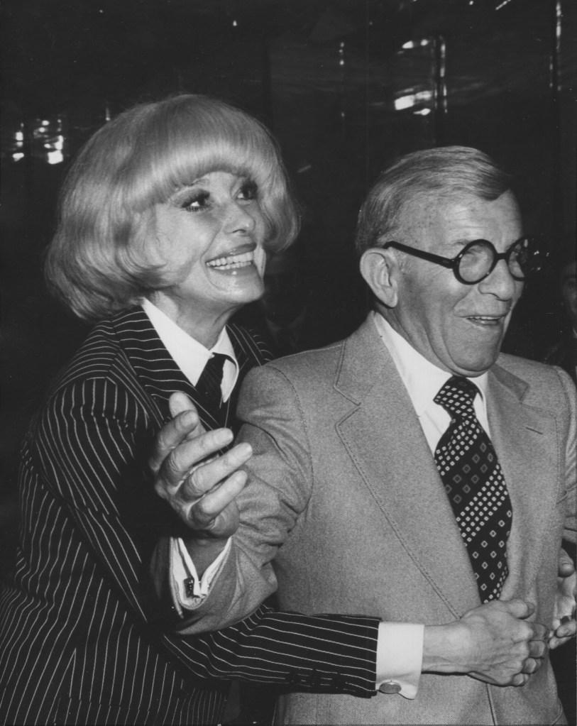 Carol Channing, George Burns