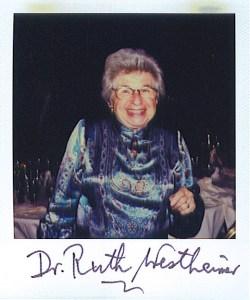Ruth Westheimer