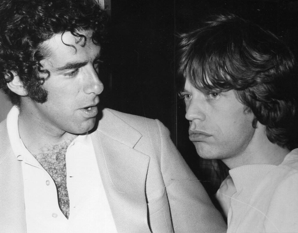 Elliott Gould, Mick Jagger