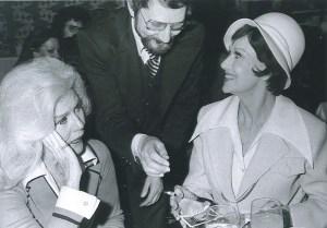 Ginger Rogers, Ruth Warrick, 1976
